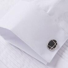 New Arrival Men's French Tuxedo Long Sleeve Shirt