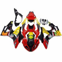 Red Yellow Black Shark ABS Plastic Complete Mold Fairing Kit Injection Bodywork Cowl Cover for 2015 2016 BMW S1000RR S 1000 RR