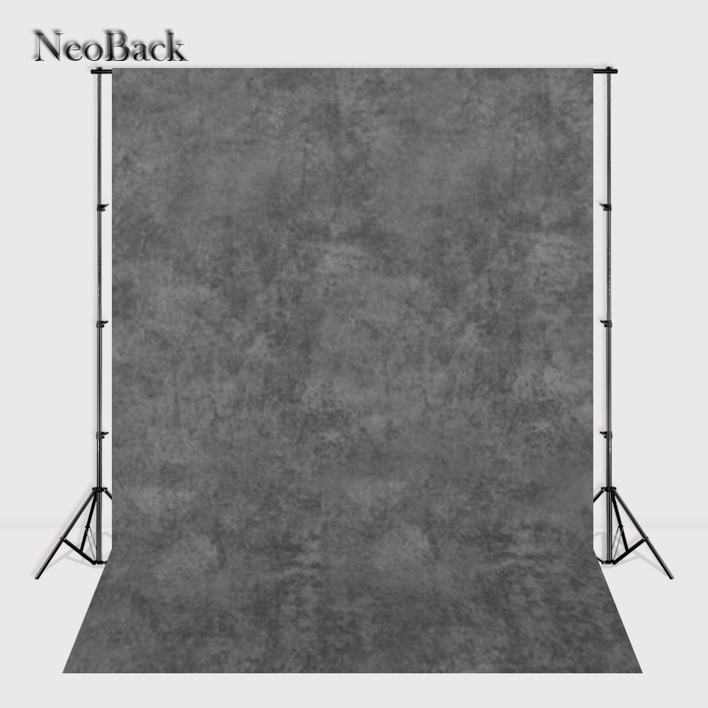 NeoBack Thin Vinyl 10x10ft 10x20ft crush dyed abstract old master grey tone muslin backdrops studio photo backgrounds MC1058 flex super big 80 195