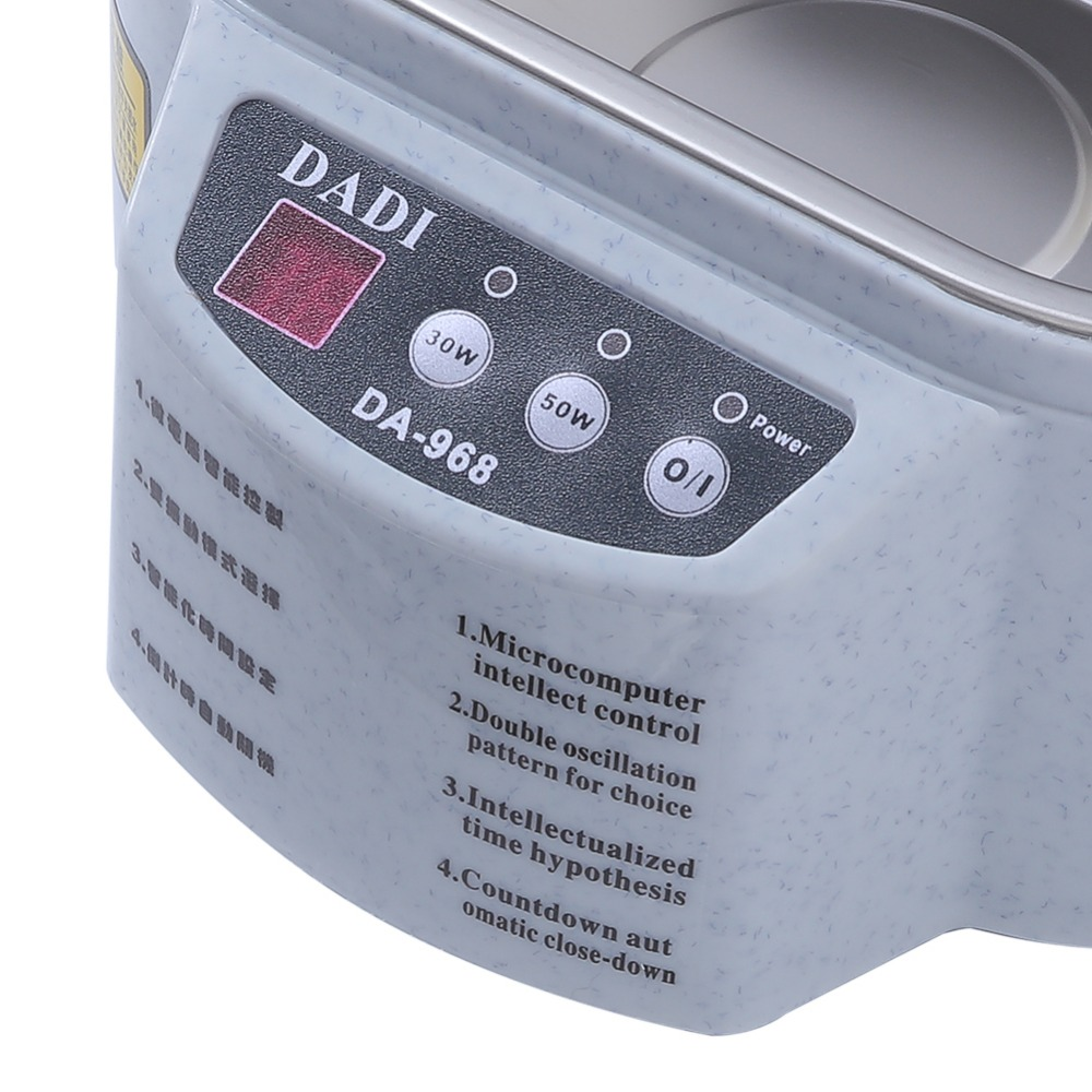 Mini Ultrasonic Cleaner Made Of Stainless Steel Material For Jewelry Glasses And Watch 4