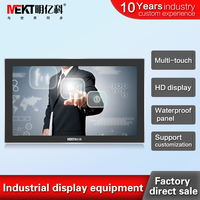 21.5 inch widescreen monitor Capacitive Touch Monitor with HDMI Input 10 point touch monitor waterproof monitor