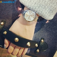 Reloj 2017 New Bestselling Trendy High quality Temperament Bracelet Watch Massive Dial Women Watch Dropshipping 17feb8