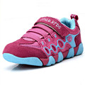 2016 New Spring Autumn Children Shoes Boys Sneakers Brand Black Kids Girls Shoes Running Breathable Boys Sport Shoes Size 26-37