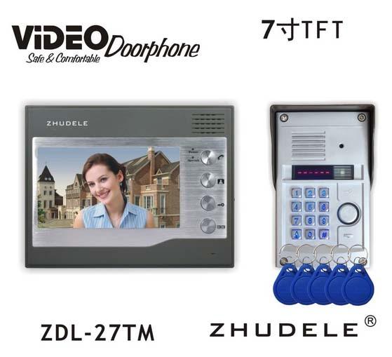 Türsprechstelle Verantwortlich Zhudele Top Qualität 6-apartments Sprechanlage Home Security Audio-türsprechanlage Kits 008a Innengerät Audio Intercom