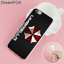 Resident Evil Umbrella Soft TPU Silicone Case Cover For iPhone