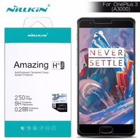 For Oneplus 3 Screen Protector Nillkin Amazing H H PRO Tempered Glass For Oneplus3 For Oneplus