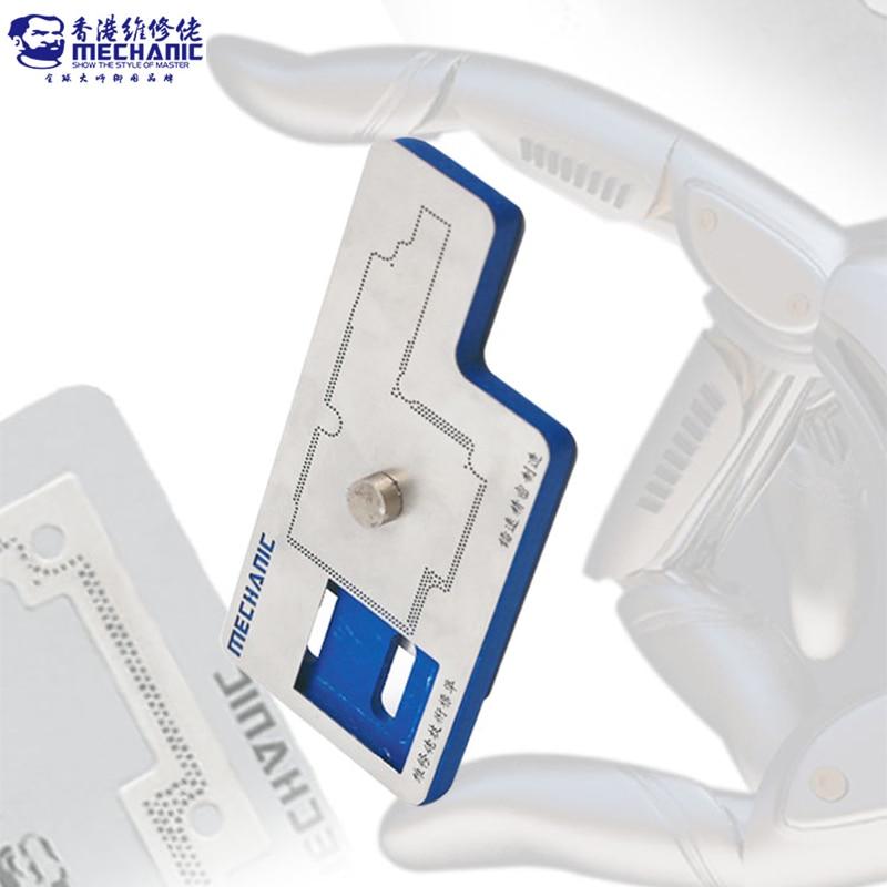 Placa de Solda Placa de Plantio Kit para Iphone Mecânico Reballing Estêncil x Placa Camada Média 3d Bga
