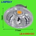 LED AR111 с рефлектором 10 Вт COB G53 с Трансформатором заменит 100 Вт лампы высокий люмен высокое качество два лет гарантии