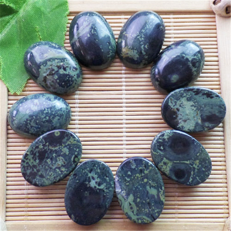 (10 pieces/lot) Wholesale Natural Kambaba Jaspers Oval CAB CABOCHON 25x18x8mm Free Shipping Fashion Jewelry ZY3402