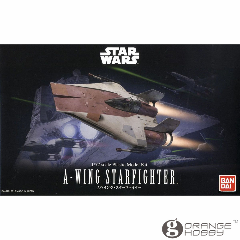 OHS Bandai Star War 1 72 A wing Starfighter Assembly Model Kits oh