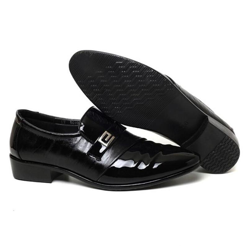 Noir Appartements De Slip Chaussures Casual Conduite Oxfords Robe Mode Bureau Homme En Movechain Hommes Cuir on D'affaires Nouvelle Mariage UqpFgH
