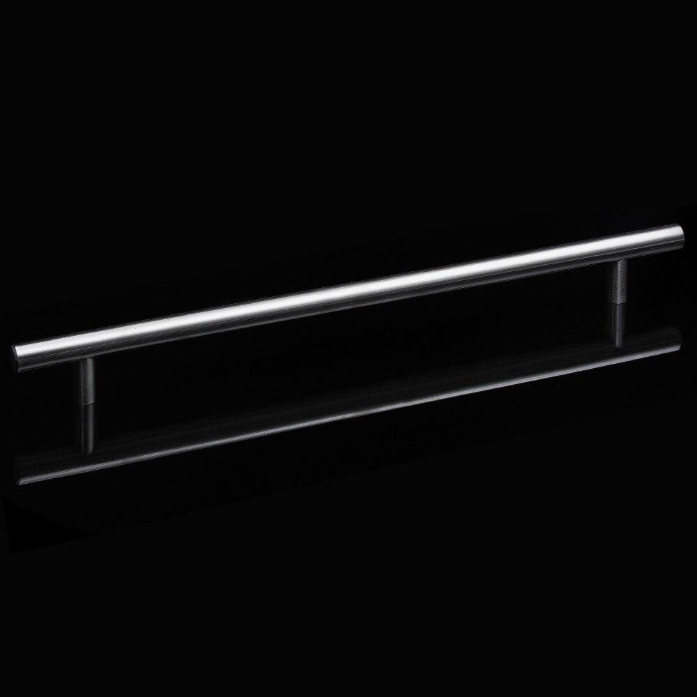 Stainless Steel Cabinet Drawer Pulls Brushed Nickel Furniture Handles Kitchen Cabinet Hardware Bathroom Door Knobs Pulls 5 Pack