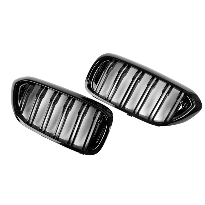 Car Front Bumper Intake Net Grille Grill For <font><b>Bmw</b></font> 5 Series M5 <font><b>G30</b></font> G31 520I 530I <font><b>540I</b></font> image