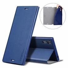 X-Level Luxury PU Leather Case for Sony Xperia XA1 ultra Z3 Z4 Z5 Plus XZ premium Flip Cover sony E5 XA C6 Stand
