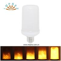 E27 E26 Simulation Flame Effect LED Light 85 265V Bulb Creative Lights Flickering Emulation Vintage Atmosphere Decorative Lamp