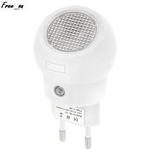 LED Night Light 360Degrees Rotation Light Sense Auto Switch ON OFF Plug And Play For Babyroom Bedroom Bathroom Yard