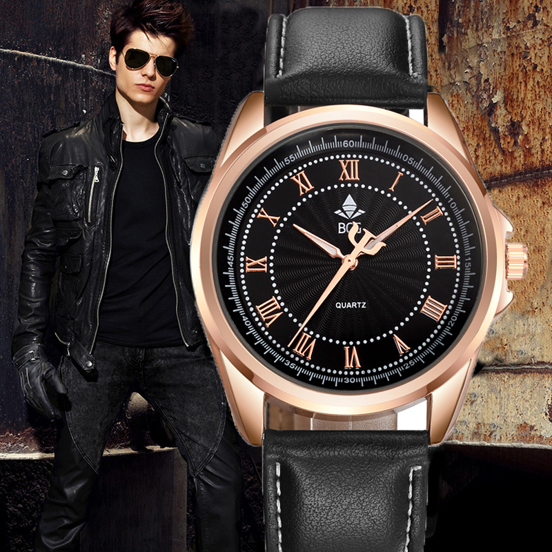 High quality mens Business Quartz watch Men sport Military Watch PU Leather Strap army wristwatch male Casual clock hour Relogio free shipping retro vintage wall light punk wall light edison bulbs metal black painting ceiling light for living room loft lamp