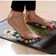 34x34cm Reflexology Walk Cobblestone Pain Relief Foot Massager