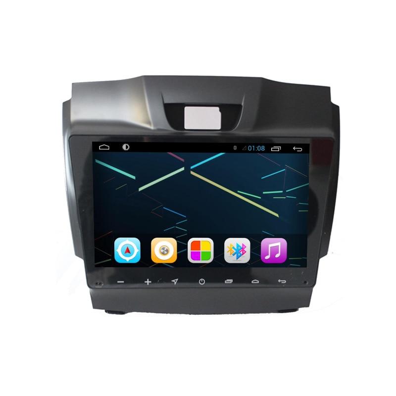9 Tela grande Android 7.1 Jogador Do Carro DVD para Chevrolet Colorado S10 Trailblazer Isuzu D-max-MU-X com Rádio GPS 2G RAM + 32G ROM