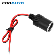 Car Cigarette Lighter Plug Receptacle Plug Connector Adapter Charger Cable Socket 12~24V 15A 200W Auto Interior Accessories