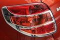 Автомобильный дизайн ABS Chrome Задняя Крышка лампы лампа для 2007-2012 Suzuki SX4 5dr