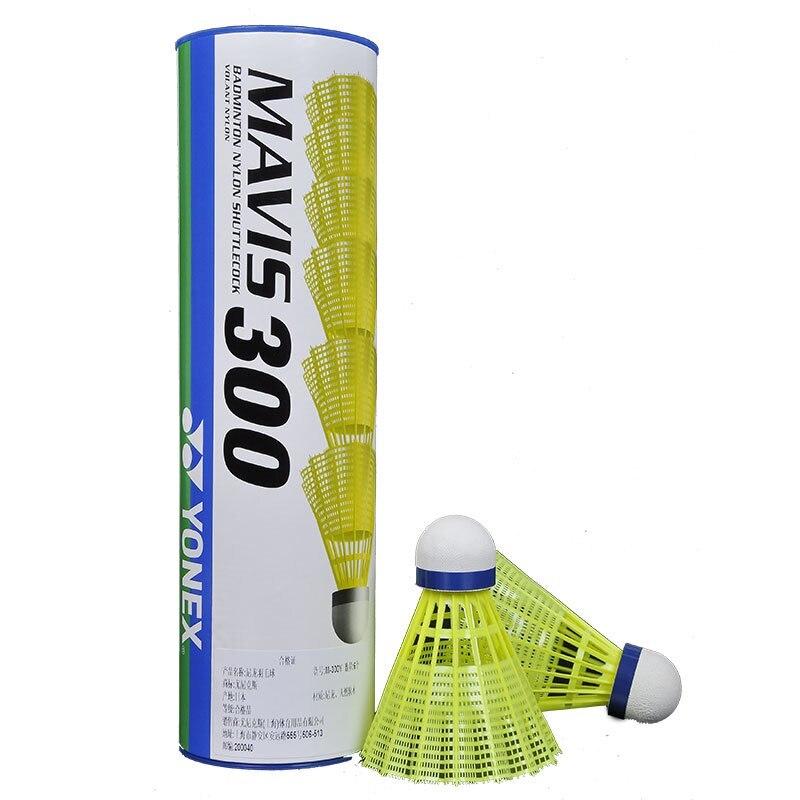 100% Authentic Yonex Mavis M300 Mavis 600 Badminton Nylon Ball Badminton Training Shuttlecock bic 0.5 mm mechanical pencil