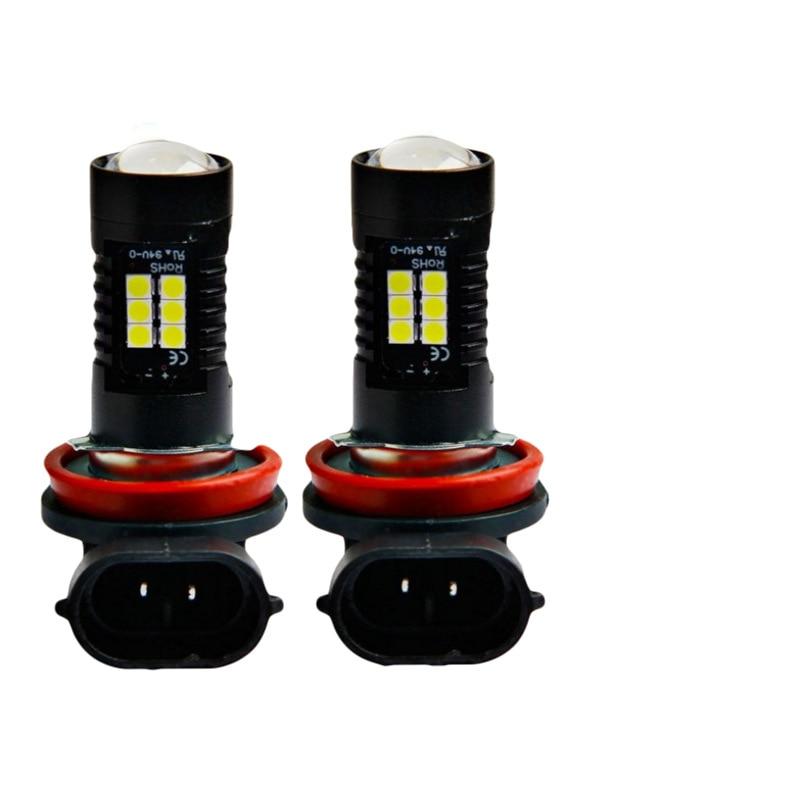 Auto LED High Power Fog Light 3030 21SMDH8H11 LED Fog Light Bulb Car Accessories 2019