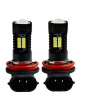 Автомобильный светодиодный противотуманный фонарь высокой мощности 3030 21SMDH8H11 светодиодный противотуманный фонарь автомобильные аксессуары 2019