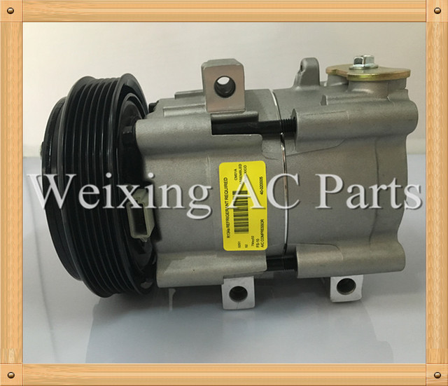 second hand Automotive A/C air conditioner compressor FS10 for Ford Fiesta 2.0 ST150 4S4119D629AA 6S4319D629AA 1356724 4767921
