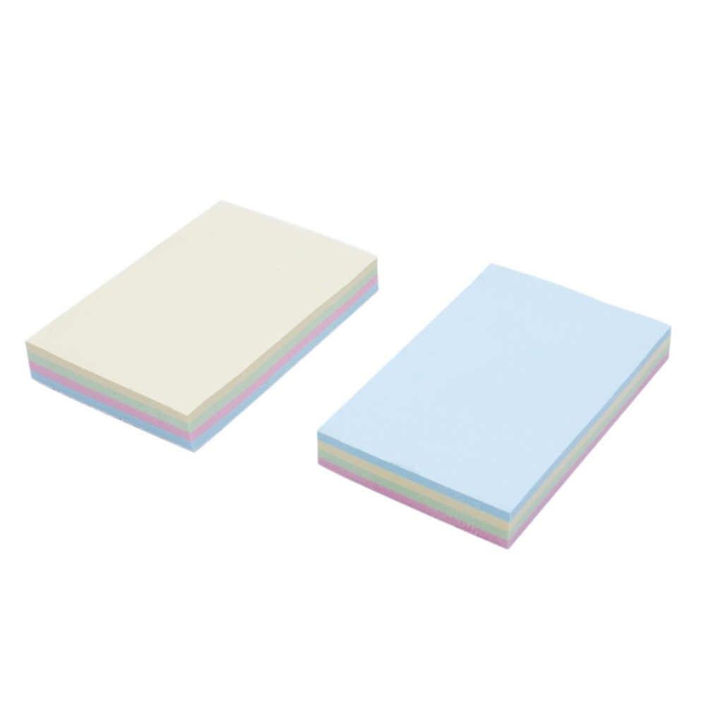 Creative מלבן תזכיר Pad הערה חמוד Kawaii דביק נייר לילדים קוריאני מכתבים בית ספר ציוד משרדי מתנות