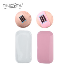 цена на High Quality 3 PCS Reusable Thick False Eye Lashes Silicone Stand Holder for Eyelash Pad Mat Accessories Rectangle Makeup Tool
