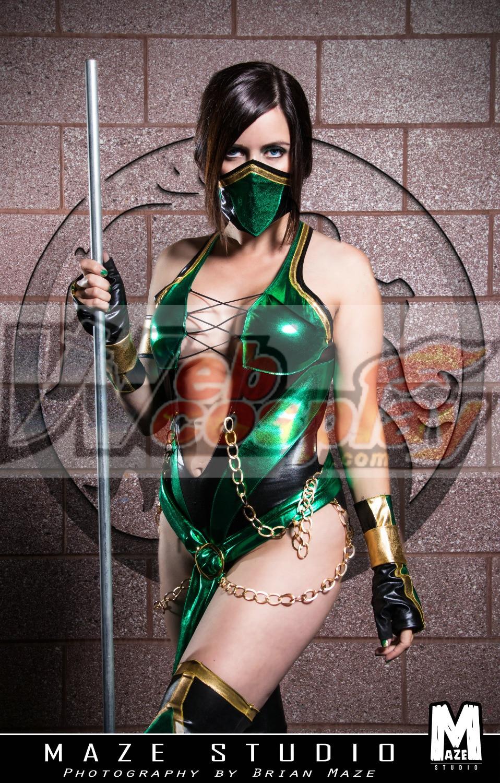 Jade cosplay from mortal kombat | Cosplay Amino