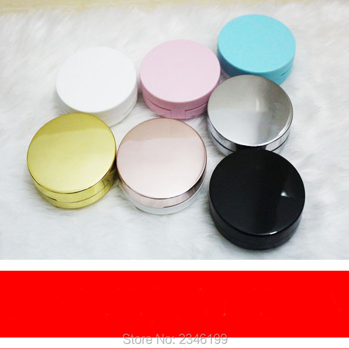Us 54 96 18 Off 5pcs Lot Top Grade Empty Air Cushion Foundation Case Diy Plastic Bb Cc Facial Cream Container With Puff Facial Beauty Tool In