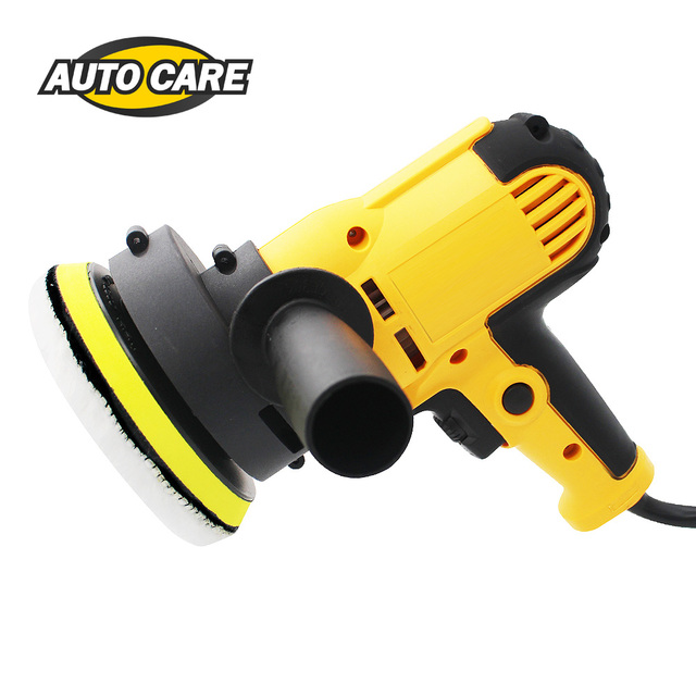 220V 3500rpm Electric Car Polisher Machine 600W Auto Polishing Machine Adjustable Speed Sanding Waxing Tools Car Accessories