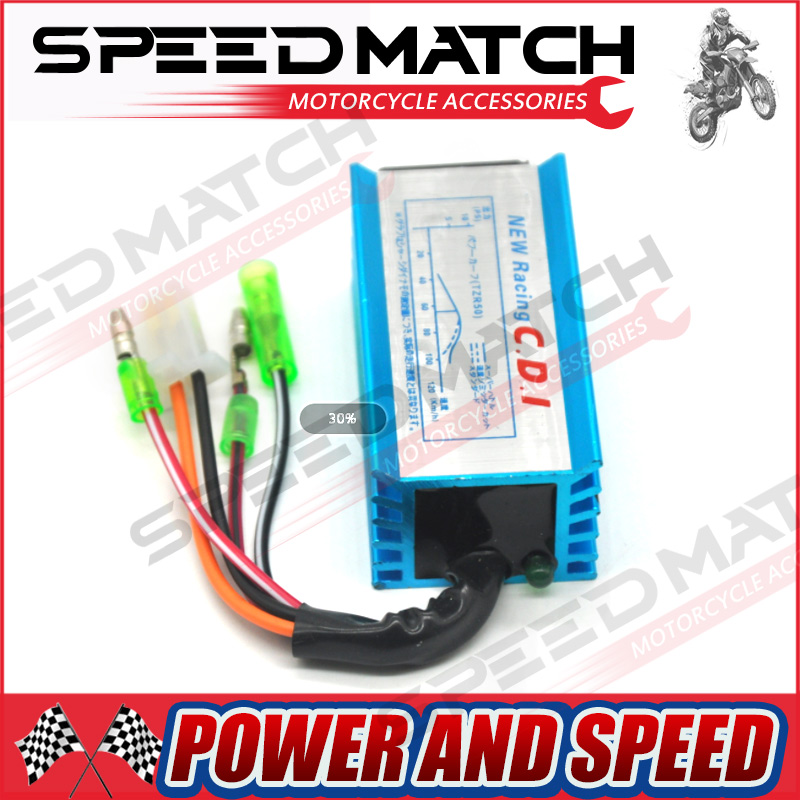High Performance Racing Cdi Box Ignition For Yamaha Jog Scooter Moped 2 Stroke 50cc 90cc