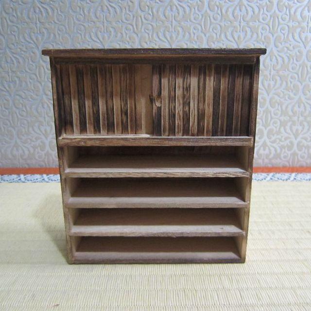2019 Armário De Madeira Antigo Ornamento Handmade Início Mobiliário Sala Mini Modelo Mobiliário Novo
