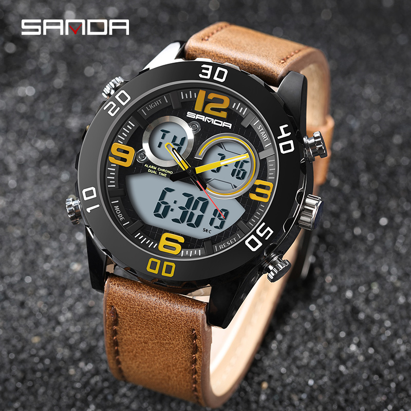 Digital Waterproof Sports Military Watches Quartz Clock Reloj Hombre 2018