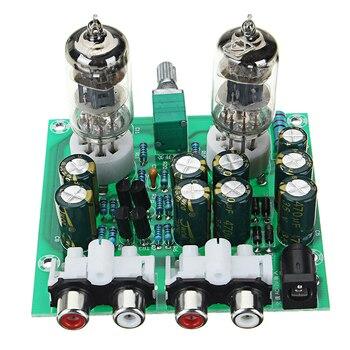 Aassembled AC 12V 1A 6J1 Preamp Tube Preamp Amplifier Board PreAmplifier Module Pre-Amp Headphone Buffer
