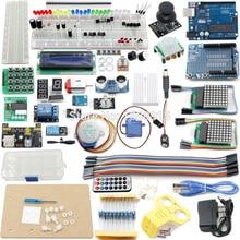 Starter Kit UNO Proyecto El Más Completo para Ar-duino UNO Mega2560 Nano con el Tutorial, UNO R3, LCD1602, fuente de Alimentación, Servo, ect