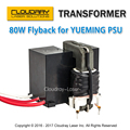High Voltage Flyback Transformer for YUEMING Co2 Laser Power Supply JG1500 JCY-1500