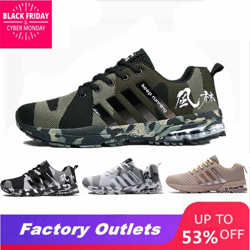 2019 hot sale Non-slip Outdoor Men Sneakers Trainer Shoes Women Breathable  Good Quality Running a4a0357d6c59