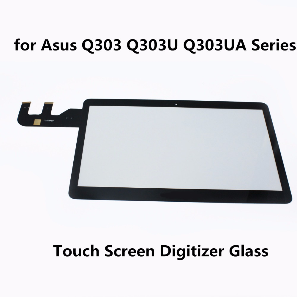 13.3 Touch Screen Digitizer Glass Panel Replacement Parts Sensor Lens  for Asus Q303 Q303U Q303UA Series Q303UA-BSI5T21 Laptop now foods candida support 90 veg capsules free shipping