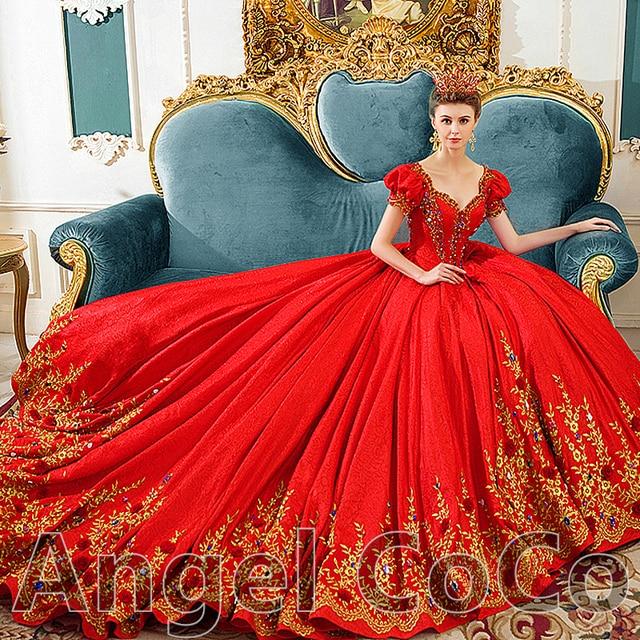 Luxury Royal Designer Wedding Dresses Turkey Gorgeous Princess Bride Bridal Vintage Gownsvestido De Noiva Custom