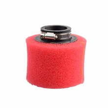 GOOFIT 48mm Air Filter Racing for GY6 50cc Motorcycle Scooter Bike Dirt Pit ATV N090-180 goofit kick start idle shaft gear 7 spline for gy6 50cc motorcycle accessory a012 049