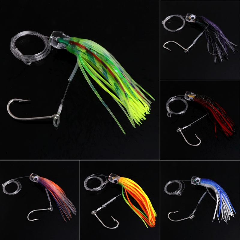 6Pcs/Set 3D Eyes Octopus Squid Jig Fishing Lures Crankbait Tackle Artificial Bait jsm 10pcs plastic hard squid jig lures sea fishing artificial squid jigs bait wood shrimp squid jigging lures fishing hook