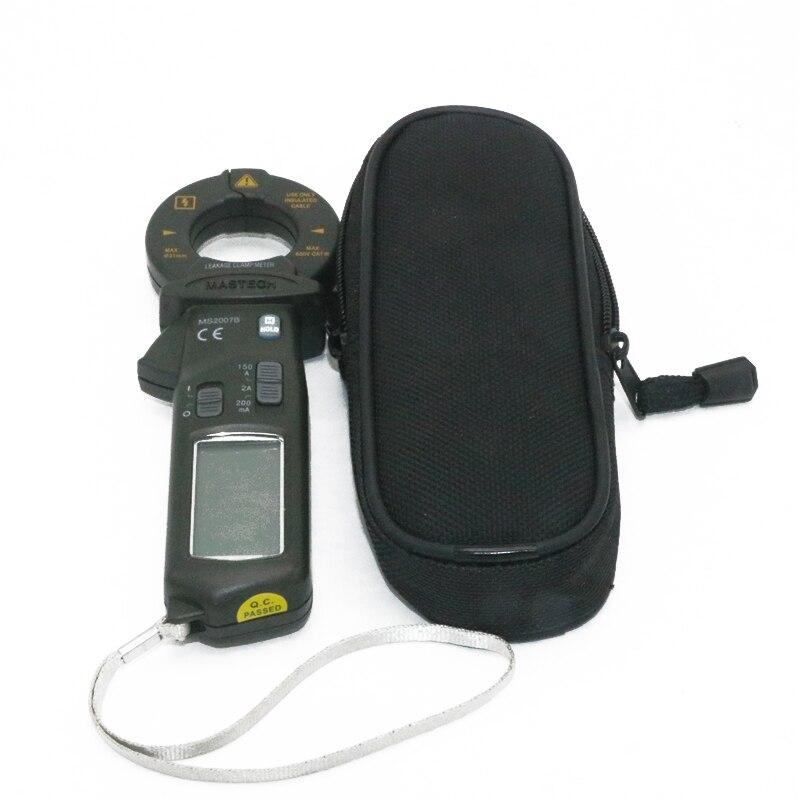 MASTECH MS2007B AC 150A Mini Digital Clamp Leaker High sensitive meter LCD 1999 counts цена