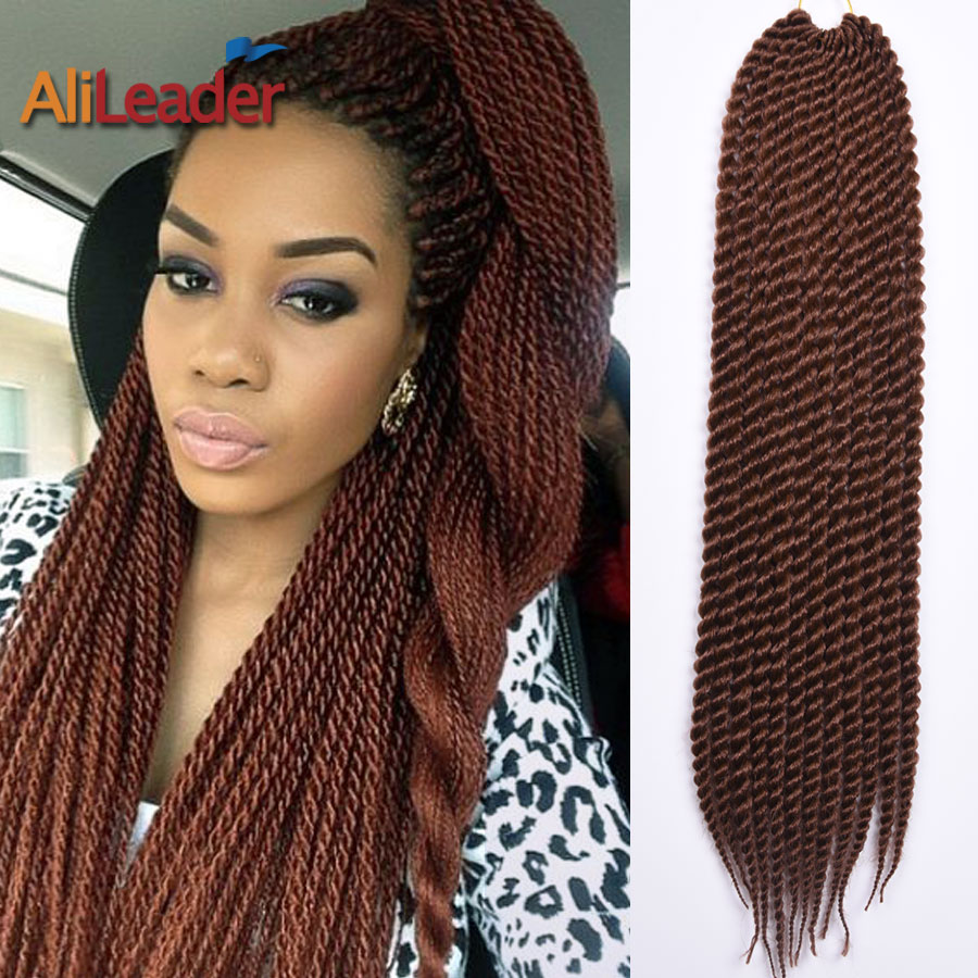 Crochet Box Braids Packs : Havana Mambo Twist Crochet Braid Hair 22 85G/Pack Synthetic Braiding ...