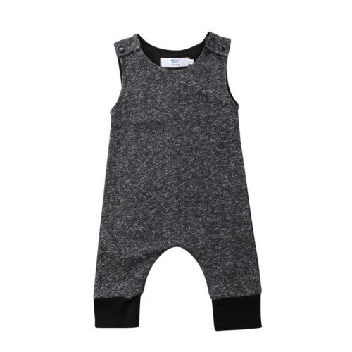Newborn Baby Boy Girls Clothing   Romper   Sleeveless Cotton Casual Jumpsuit Playsuit Clothes Outfits Baby Boys 0-18M