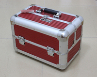 aluminium tool case Multifunction hairdressing kit manufacturer promotions Portable storage box cosmetic bags