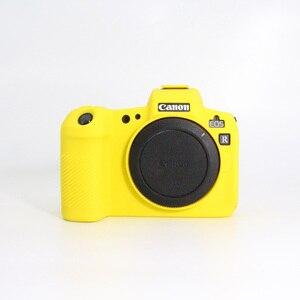 Image 5 - Silikon Fall für Canon EOS R Fall Weichen Silikon Gummi Schutzhülle Körper Haut für Canon EOSR Kamera Körper Schutz Abdeckung